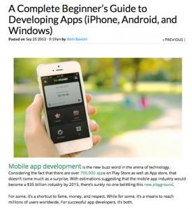 create app guide